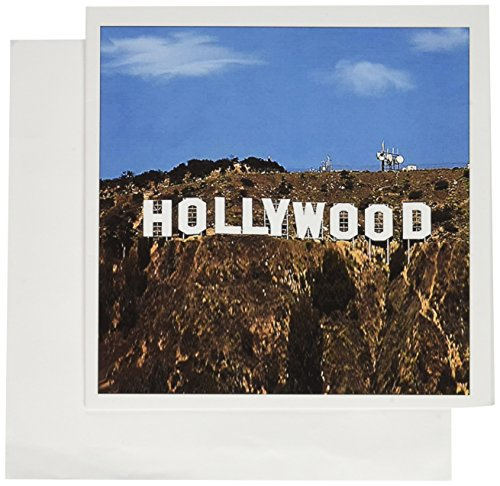 Hollywood - Greeting Card, 6 x 6 inches, single (gc_4400_5)