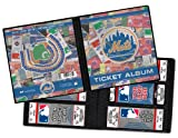 New York Mets Ticket Album, Holds 96 Tickets