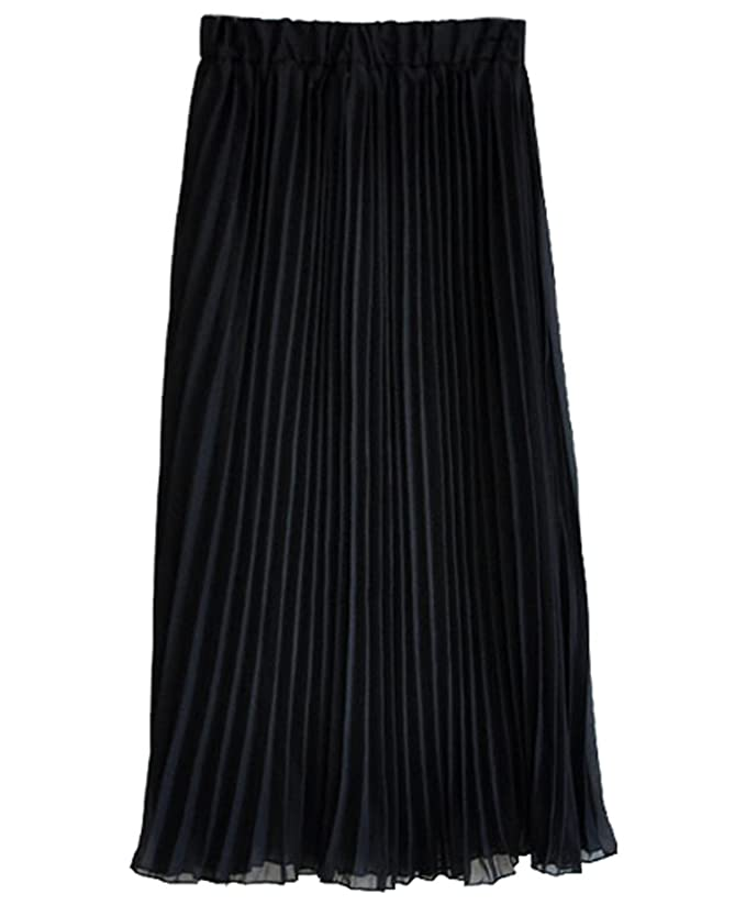 BININBOX® Mädchen Damen Chiffon Lang Röcke Faltenrock Strandkleid Sommerrock  Skirt Böhmen Rock (Blau): Amazon.de: Bekleidung
