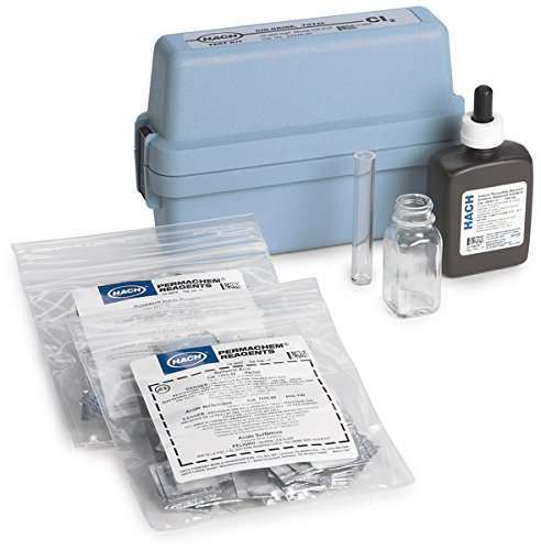 Hach 2444400 Chlorine (Total) Test Kit, Model CN-21P for sale  Delivered anywhere in USA