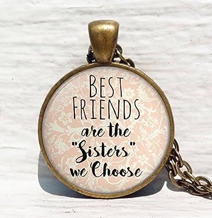 Amazon.com: Mejores amigos son las hermanas elegimos ...