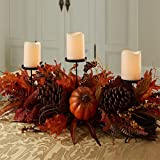 "Brylanehome 28"" Harvest Candle Holder (Multi,0)"