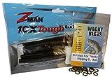 Wacky Rings & Z-Man Zinkerz - O-Rings for Wacky Rigging Senko Worms (100pk Green Pumpkin Orings & 6pk Zinkerz)