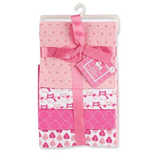 regent-baby-4-piece-crib-mates-receiving-blankets-pink