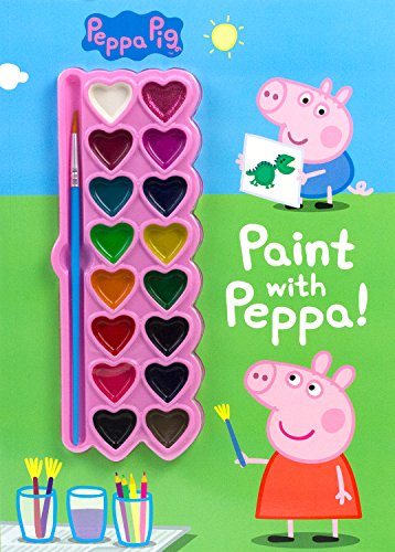 Peppa Pig Paint with Peppa! (Paint Palette Book) -