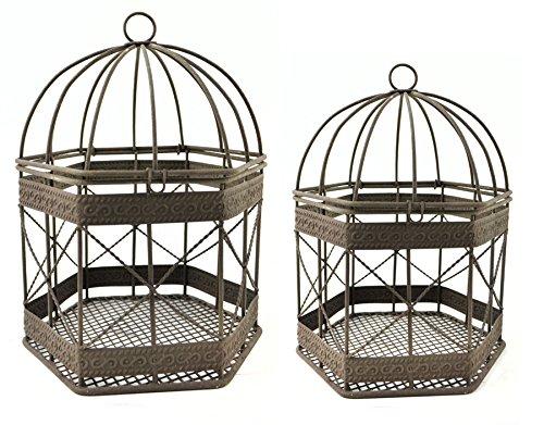 Mini Birdcage (Mini Garden Iron Rustic Birdcage 8