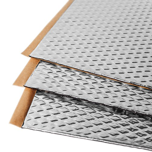 Noico 80 mil 18 sqft car Sound deadening mat, Butyl Automotive Sound Deadener, Audio Noise Insulation and dampening (Best Truck Stops For Lot Lizards)