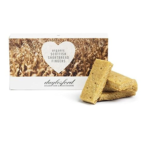 Daylesford Organic Scottish Shortbread Fingers - 125g (0.28lbs)