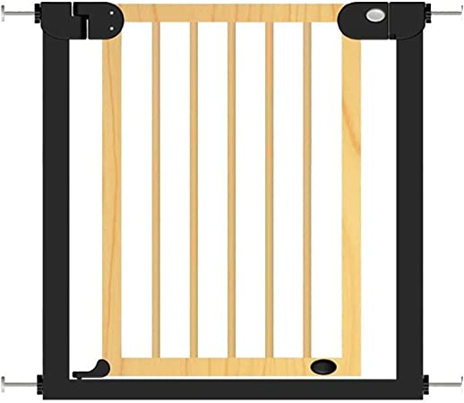 ZX- Cerca de La Escalera de La Barra de La Puerta de Seguridad del Niño de Madera Sólida de Baby Safe (Tamaño : 76-83cm): Amazon.es: Hogar