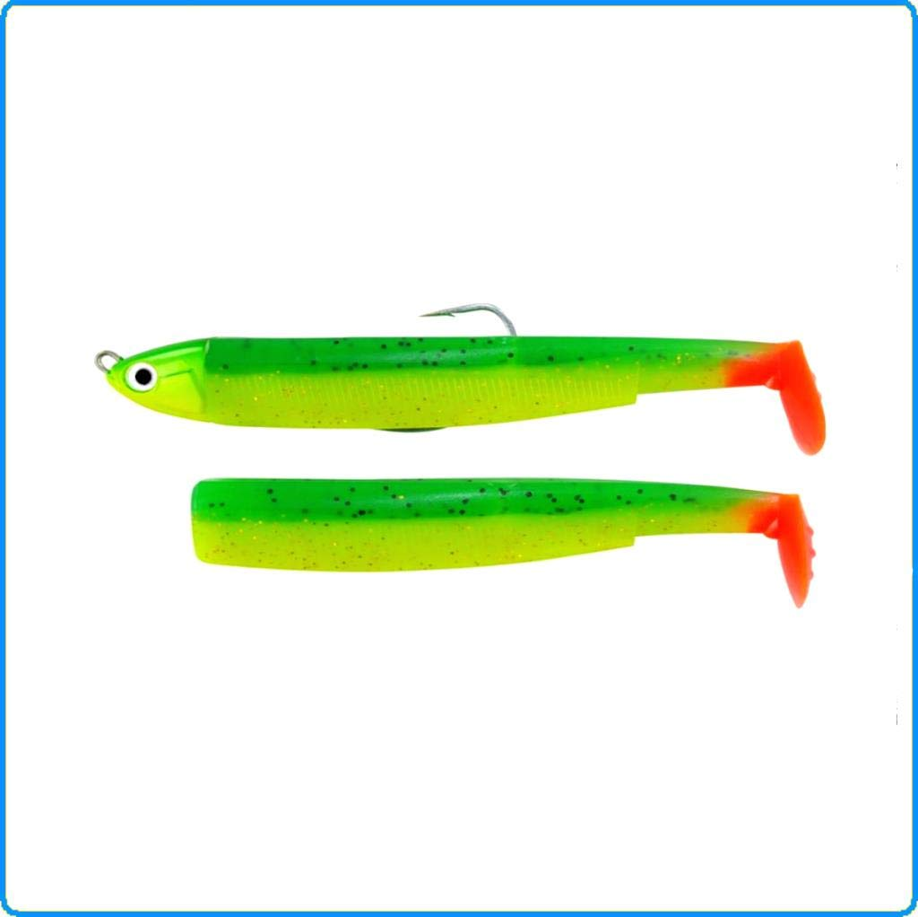 Black Minnow 140 Combos (Combo - Shallow - 10g - Vert/Orange)