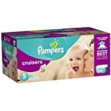 Pampers Cruisers Diapers Giant Pack, Size 5, 96 Count