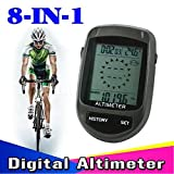 8 in 1 LCD Digital Altimeter Compass Altimeter
