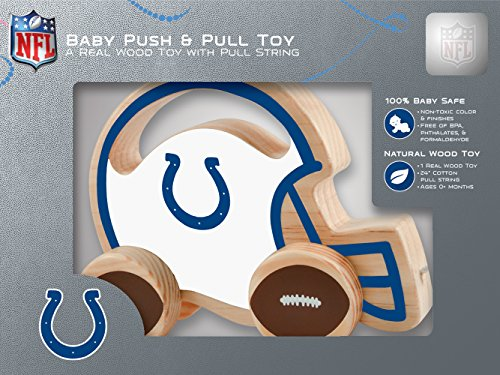 MasterPieces NFL Indianapolis Colts Push & Pull Toy