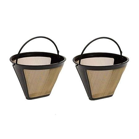 Fxbar - Filtro vertical para cafetera, filtro de café permanente ...