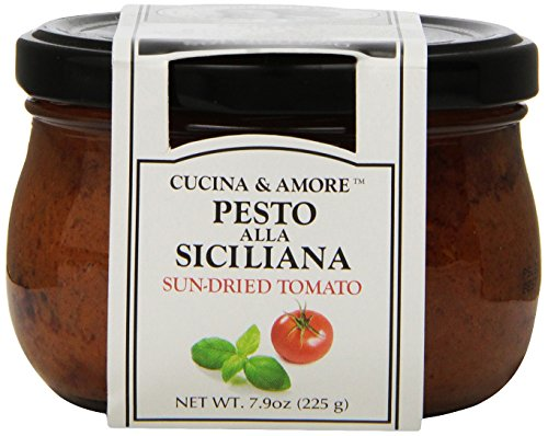 [Cucina & Amore Sun-Dried Tomatoes in Oil, 7.9 Ounce] (Sun Dried Tomato Sauce)