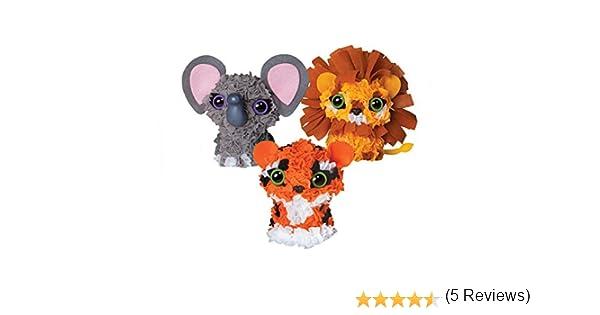 /pluschraft Orb Factory orb77037/ /Personaje 3D de Animales de la Selva con boquillas/ /DIY/ /Manualidades/
