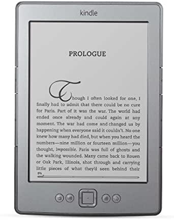 Kindle, pantalla de E Ink de 6