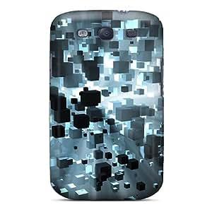 High Quality XpjYxIc7394wjicS Floating Cubes 1 Tpu Case For Galaxy S3