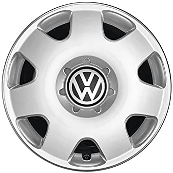 Volkswagen Original Complete Set for VW Polo Fox Wheel Trim (Set of 4) 14 Inch Wheel Trims 6Q0071454 Steel Wheel Cover Silver: Amazon.co.uk: Car & Motorbike
