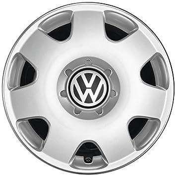 Volkswagen Original Polo Fox Tapacubos (4 Unidades) Juego Completo de 14 Pulgadas tapacubos Llantas de Acero Protectora Plata 6q0071454: Amazon.es: Coche y ...