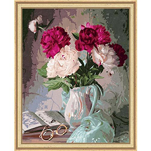Schipper Still Life with Peony Paint-By-Number