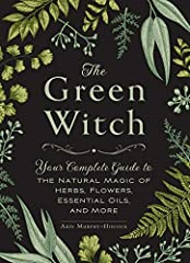 """""""For covens who prefer meeting outdoors, perhaps in a garden or a deep forest clearing, The Green Witch is a delightful guide to nature magic. It's filled with practical recipes for herbal blends and potions, the properties of essential oils,..."""
