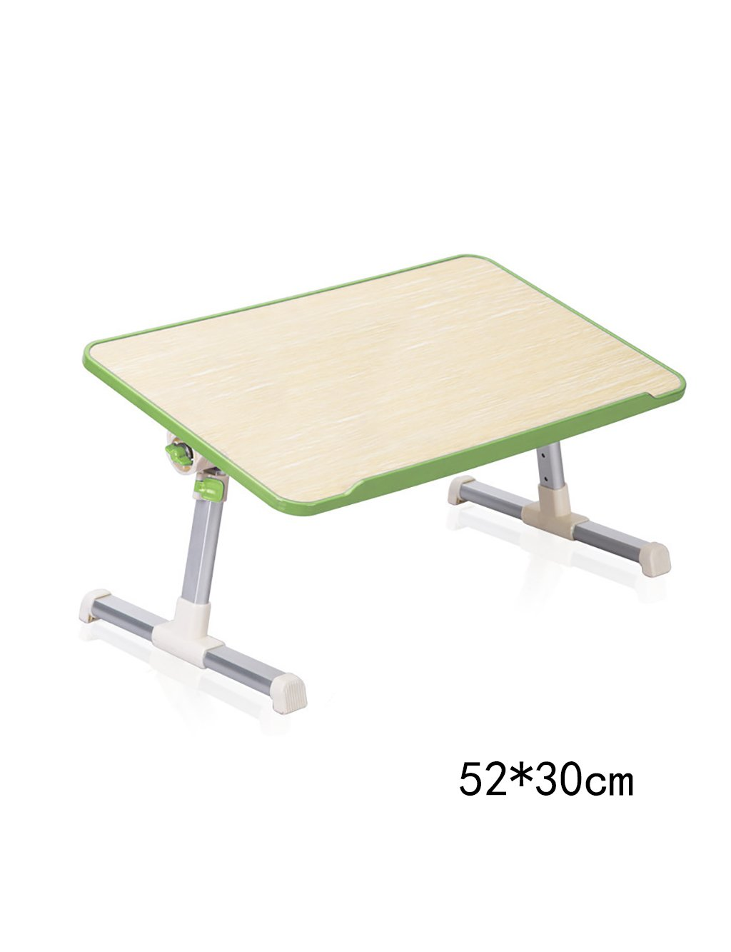 HAIPENG ベッドテーブル ノートパソコンのテーブル寮の学習のデスクラジエーター(単純な3つの色、2つのスタイルオプション)で簡単な怠惰な小さなテーブルの家庭の折りたたみテーブル ソファーテーブル ( 色 : 緑 , 三 : A ) A 緑 B07CCN1NSK