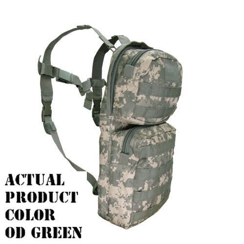 Molle Hydration Backpack Pack with Bladder-OD Green by Condor Outdoor
