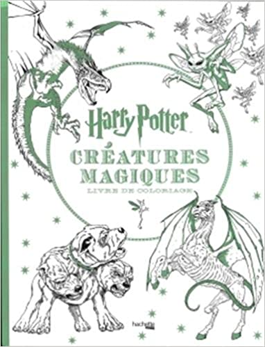 Coloriage Harry Potter.Harry Potter Creatures Magiques Livre De Coloriage Coloring Book