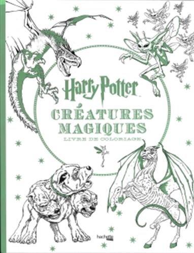 Harry Potter Créatures Magiques Livre De Coloriage Télécharger Pdf
