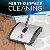 Bissell Natural Sweep Carpet and Floor Sweeper with Dual Brush Rotating System and 4 Corner Edge Brushes, 92N0A