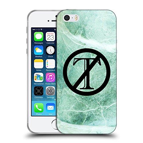 Super Galaxy Coque de Protection TPU Silicone Case pour // Q04120537 Trump est en marbre de jade // Apple iPhone 5 5S 5G SE