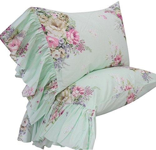 Shams Green Queen Set of 2-Style K ()