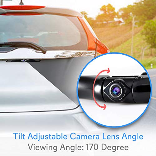 Android Double Din DVR Dash Cam System Camera, WiFi, Bluetooth Player, Navigation, Slot AM FM - Pyle