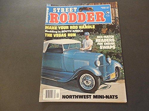 Street Rodder Jan 1978 Rodding In S Africa; Vegas Run; - Run Vegas