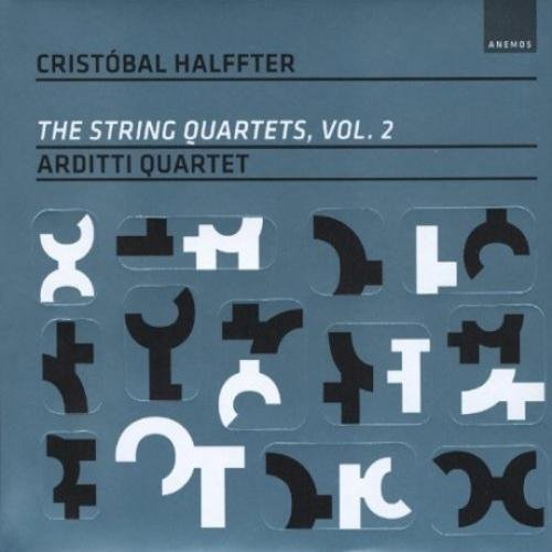 (THE STRING QUARTETS VOL.2/ ARDITTI QUARTET [BOOK EDITION] by CRISTOBAL HALFFTER [Korean Imported])