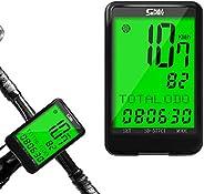 Intsun Bike Computer Wireless Bicycle Speedometer Odometer Waterproof Bicycle Computer with LCD Backlight Auto