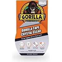 Gorilla 6027002 07164000719 Gaffer & Builders Clear Tape 8.2m