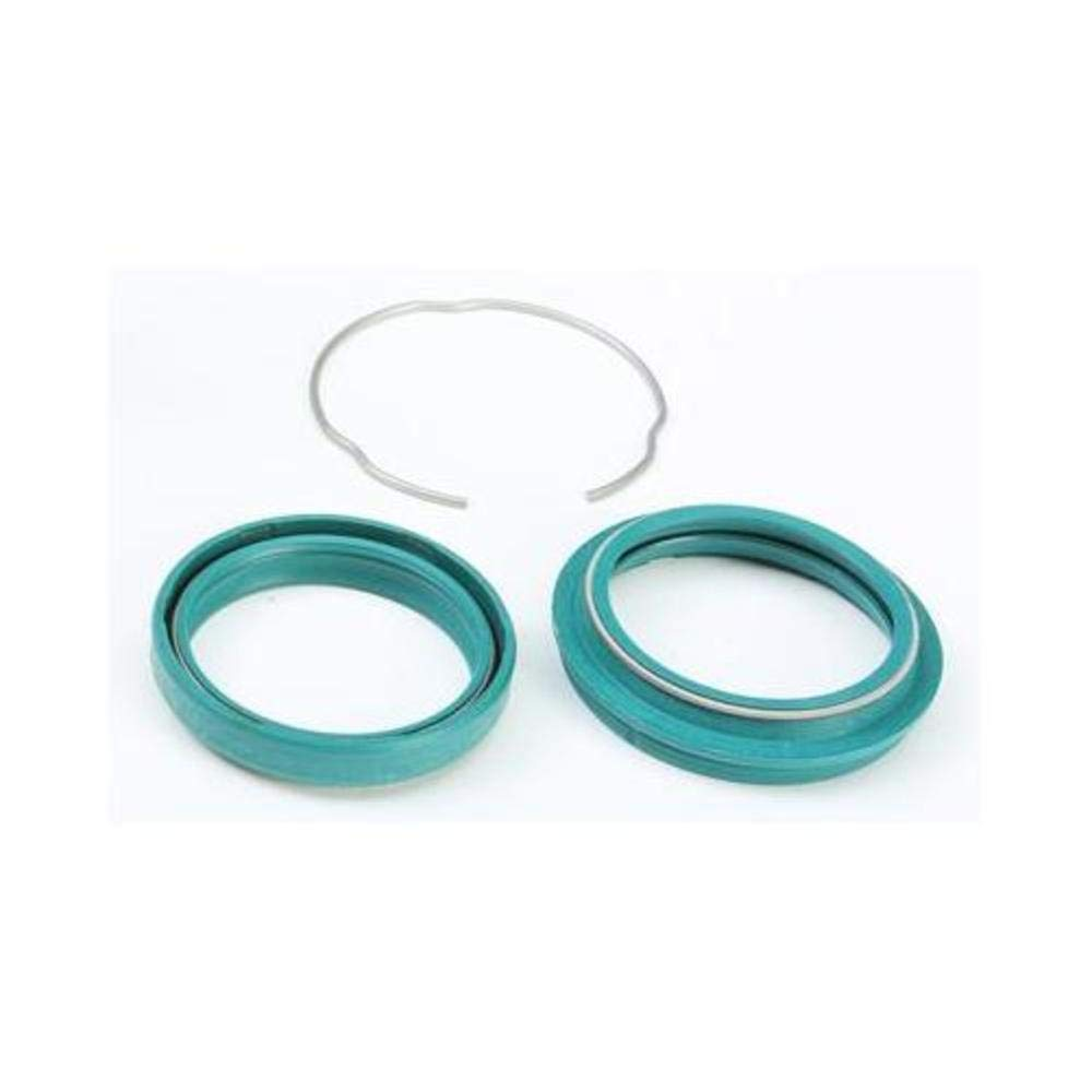 10-14 HONDA CRF250R: SKF High Protection Fork Seal And Wiper (48mm) (Green)
