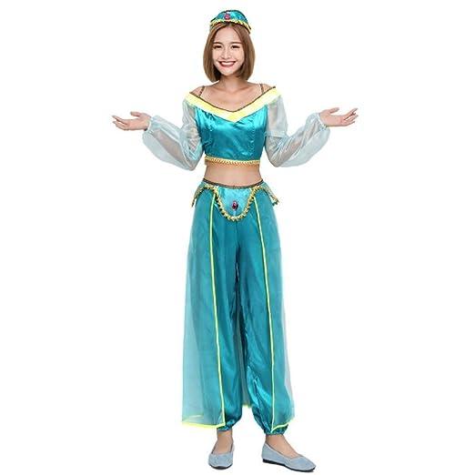 RMCKJ-E Disfraz De Princesa árabe Disfraz De Bailarina India De ...