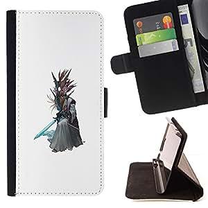 Momo Phone Case / Flip Funda de Cuero Case Cover - Asistente Árbol;;;;;;;; - Samsung Galaxy S6 EDGE