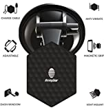 honey gear - HoneyGear G-Force Pro | Retractable Cable + Magnetic Car Vent, Dash, Universal Phone Stand | Car Phone Holder | CHOOSE COLOR & CABLE TYPE | White or Black | USB-Type-C, Micro-USB, 8-pin for Lightning