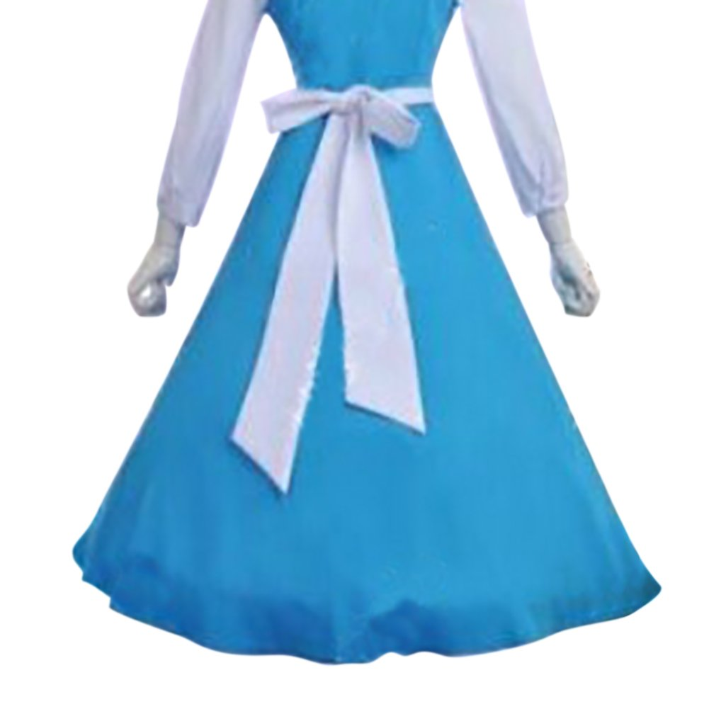 Amazon.com: Aspire Maid\'s Waist Apron Cosplay Outfit White, Half ...