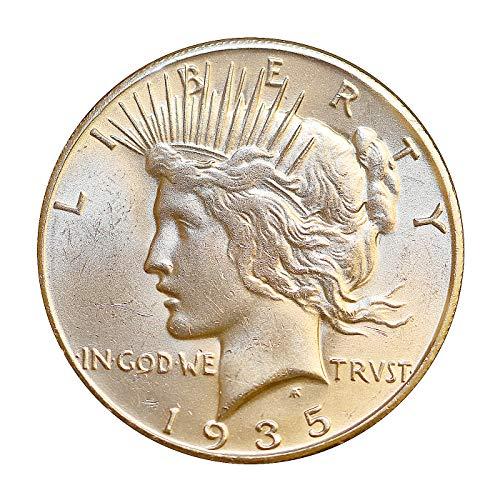 1935 S Peace Silver Dollar - Gem BU/MS/UNC
