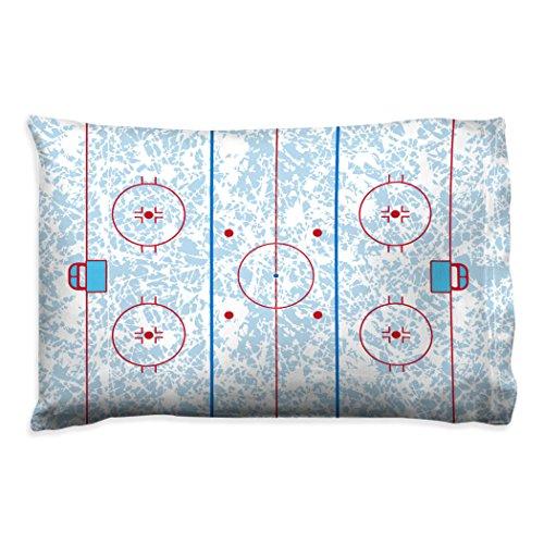 Stanley Hockey Rink - Rink Pillowcase | Hockey Pillows by ChalkTalk Sports