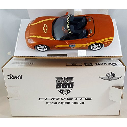 Revell 2007 Orange Corvette Official Indy Pace Car Promo Model 1:25 Scale No. 85-0979