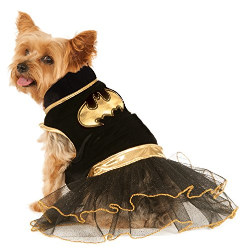 DC Comics Batgirl Pet Tutu Dress, Small]()