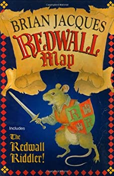 Redwall Map & Riddler 0399232486 Book Cover