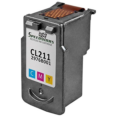 Speedy Inks - Canon CL-211 Color Remanufactured Inkjet Cartridge for use in PIXMA iP2700, PIXMA iP2702, PIXMA MP230, PIXMA MP240, PIXMA MP250, PIXMA MP270, PIXMA MP280, PIXMA MP480