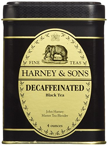 - Decaffeinated Ceylon Tea, Loose Tea in 4 Ounce Tin